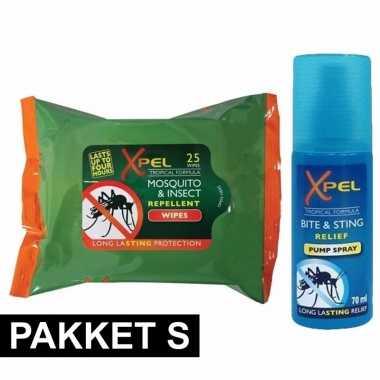 Anti insecten pakket small