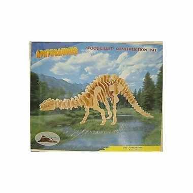 Apathosaurus houten bouwpakket