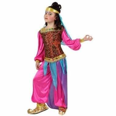 Arabische buikdanseres suheda verkleed kostuum voor meisjes