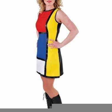 Art work jurk voor dames