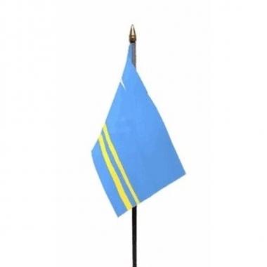 Aruba vlaggetje met stokje
