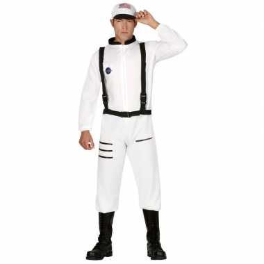 Astronauten/ruimtevaarders verkleed pak/kostuum voor heren