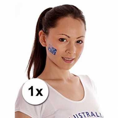 Australie vlag tattoeage