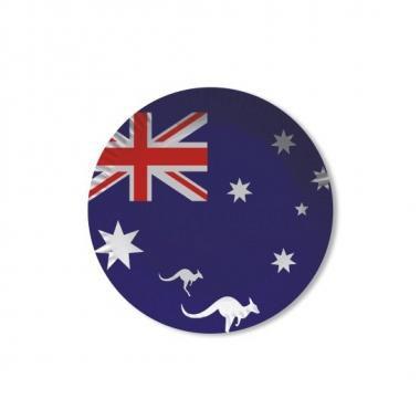 Australie wegwerpbordjes 8 st