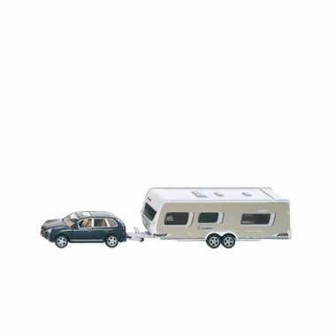 Auto met caravan voor kinderen