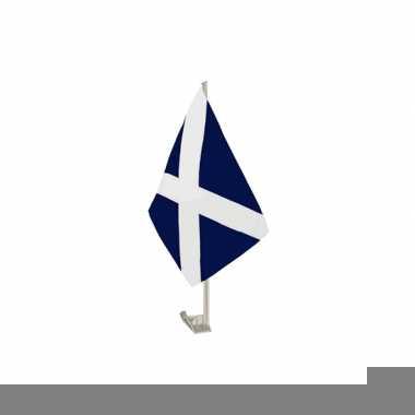 Autovlaggen met schotland vlag