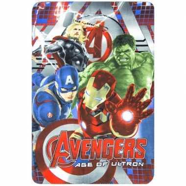 Avengers fleece deken voor jongens