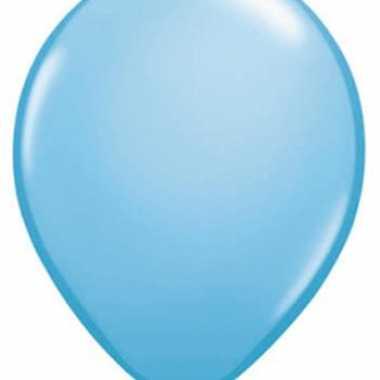 Baby blauwe qualatex ballonnen