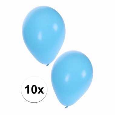 Babyshower ballonnen blauw 10x