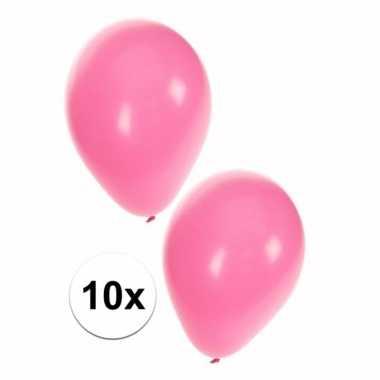 Babyshower ballonnen roze 10x