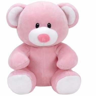 Babyshower meisje knuffeldier ty baby beertje princess 24 cm