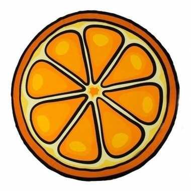 Badlaken sinaasappel 150 cm