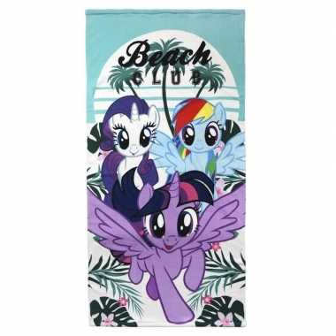 Badlaken van my little pony 70 x 140 cm