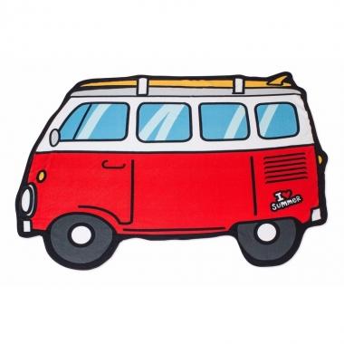 Badlakens rode van 150 x 110 cm