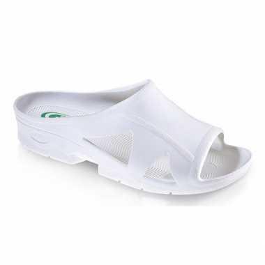 Badslippers met gevormde voetzool