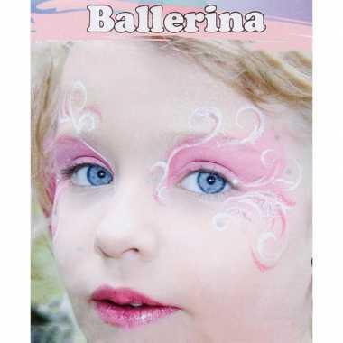 Ballerina schminken schminkset 6-delig