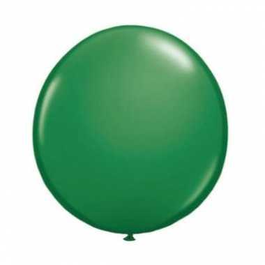 Ballon groene qualatex 90 cm