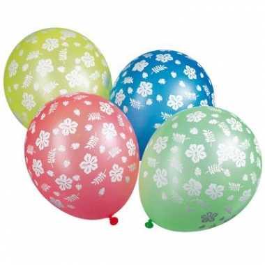 Ballonnen hawaii 5 stuks