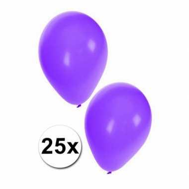 Ballonnen in het paars 25x