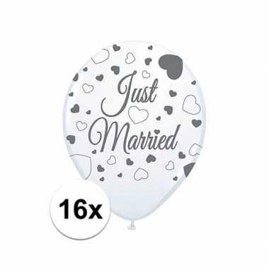 Ballonnen pas getrouwd 16 st