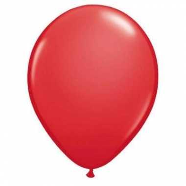 Ballonnen qualatex rood