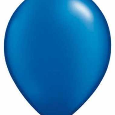 Ballonnen sapphire blauw qualatex