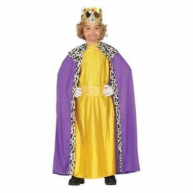 Balthasar drie koningen/wijzen kerst verkleed kostuum