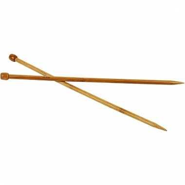Bamboe breinaalden nr.9