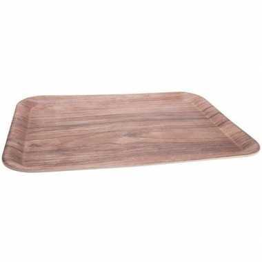 Bamboe dienblad/serveerblad 43 x 32 cm