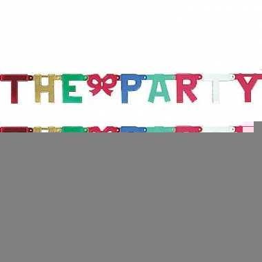 Banner letter f karton