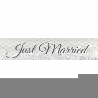 Banner pas getrouwd 360 cm