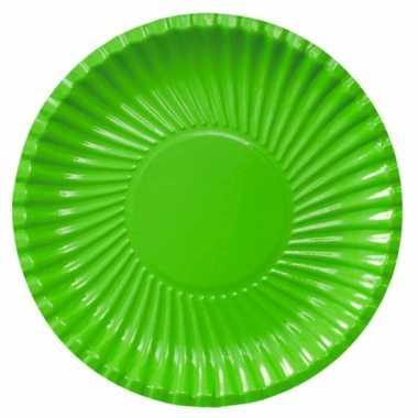 Barbecue bordjes groen 29 cm
