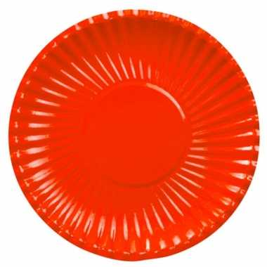 Barbecue bordjes rood 29 cm