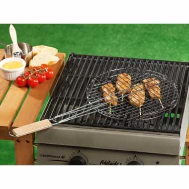 Barbecue braadrooster rond