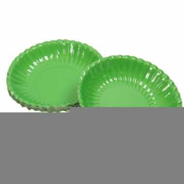 Barbecue schaaltjes groen 16 cm