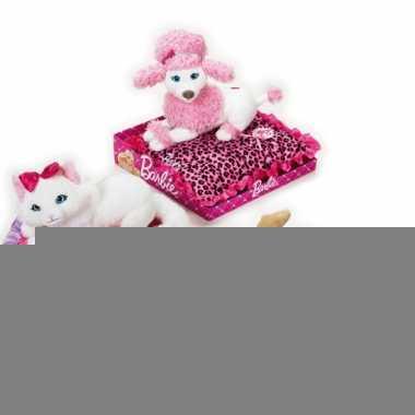 Barbie knuffel chihuahua op kussen