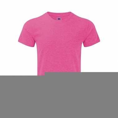 Basic heren t-shirt roze
