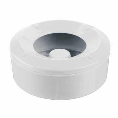 Basic stormasbakken wit 10 cm