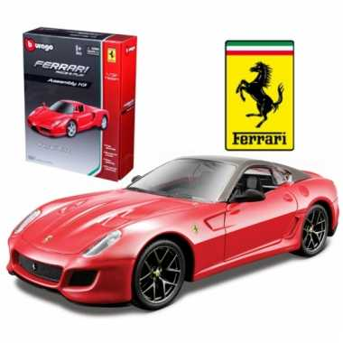 Bburago ferrari 599 gto race and play kit