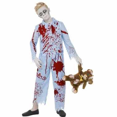 Bebloede zombie outift voor jongens