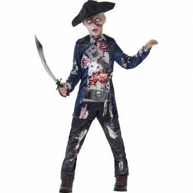 Bebloede zombie piraten outift voor jongen