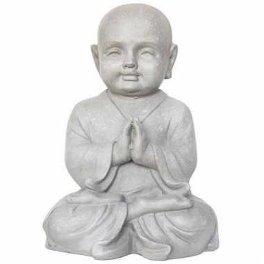 Beeld boeddhistische monnik 40 cm