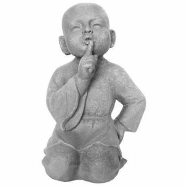 Beeld boeddhistische monnik 41 cm