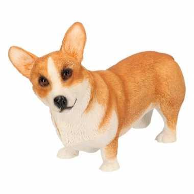 Beeldje corgi hond 14 cm