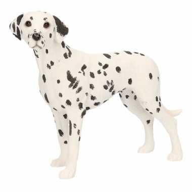 Beeldje dalmatier hond 14 cm