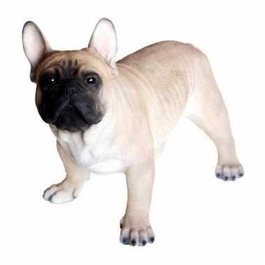 Beeldje franse bulldog hondje 35 cm