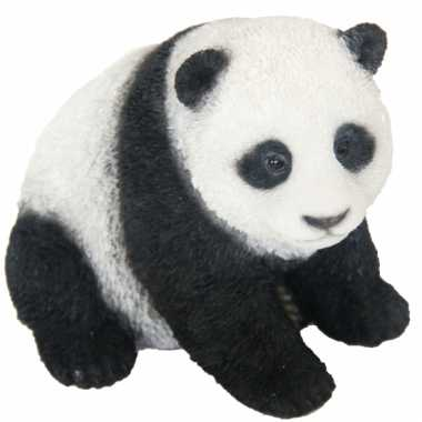Beeldje pandabeer 14 cm