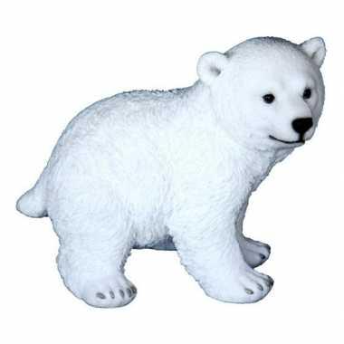 Beeldje witte ijsbeer 18 cm