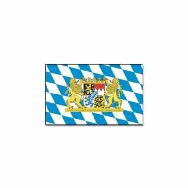 Beieren vlag blauw/wit