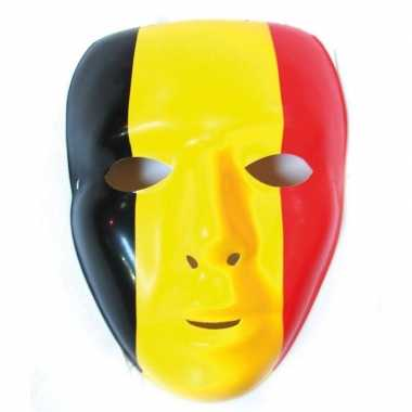 Belgische vlag masker